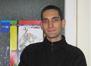Александър Павлов от Училище по роботика