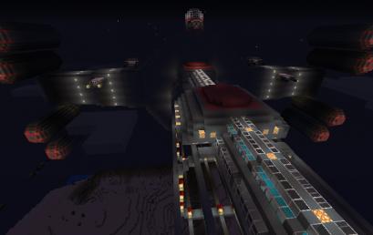Minecraft: Battlecruiser operational