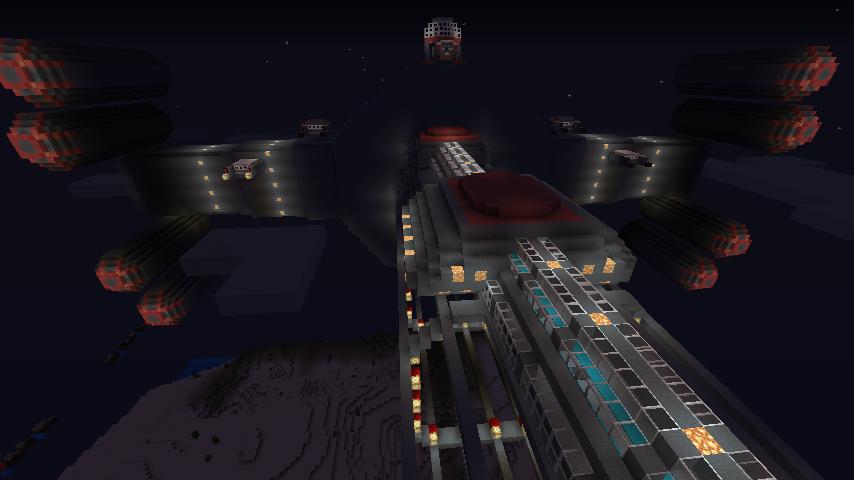 Майнкрафт: Battlecruiser operational