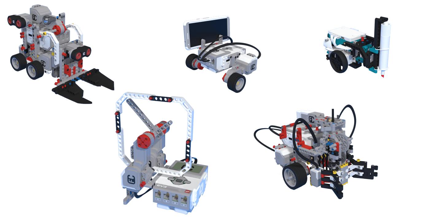 Лего роботи от Mindstorms серията